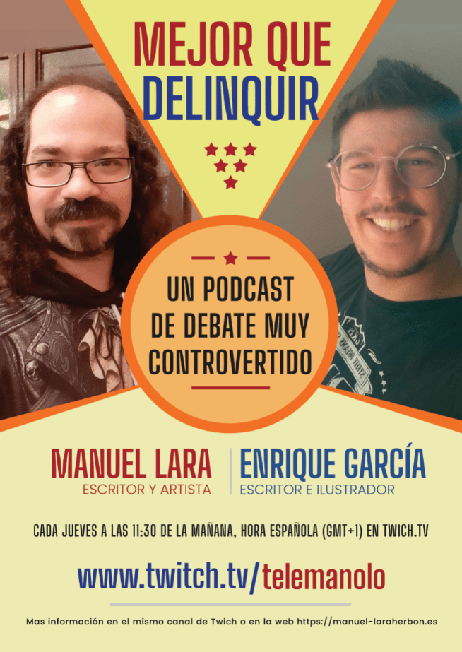 Mejor que delinquir podcast radio programa
